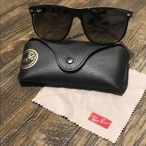 Ray Ban polarized sunglasses.